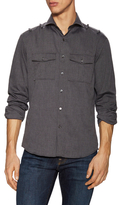 Michael Bastian Military Spread Collar Sportshirt