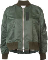 Sacai bomber with cape back