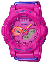 Baby-G Baby G Baby G Duo Vivid Colors W/Time,1/100