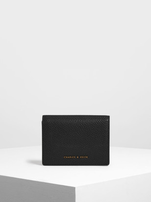 Charles & Keith Classic Snap Button Wallet