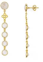 Argentovivo Linear Drop Earrings