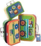 Twos Company S/3 Happi Monster Suitcase