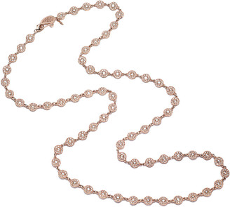 Coomi Eternity 18k Rose Gold Long Opera Diamond Necklace