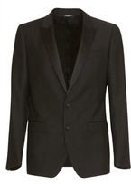 Dolce & Gabbana Black Martini Suit