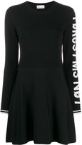 RED Valentino slogan detail short dress