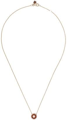 Selim Mouzannar 18kt rose gold diamond Mina necklace