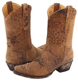 Old Gringo Leopartido 10 (Ocre Viejo) Cowboy Boots