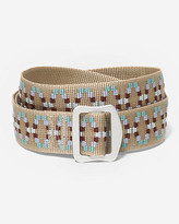 Eddie Bauer Women's Horizon Jacquard Belt