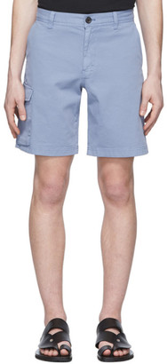 Paul Smith Blue Cargo Shorts