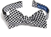 The Tie Bar Men's Gingham Cotton Bow Tie