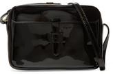 Iris and Ink Linda Patent-Leather Shoulder Bag