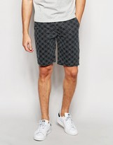 Asos Chino Shorts With Dot Print