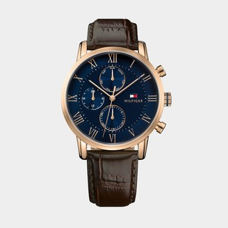 Tommy Hilfiger Sport Dress Watch With Leather Strap