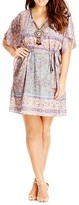 City Chic Moroccan Affair Paisley Tunic