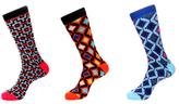 Jared Lang Geometric Socks (3 PK)