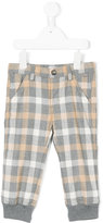 Il Gufo checked trousers - kids - Cotton/Polyester/Spandex/Elastane/Viscose - 3-6 mth