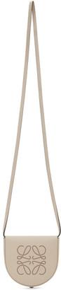 Loewe Beige Small Heel Pouch Bag