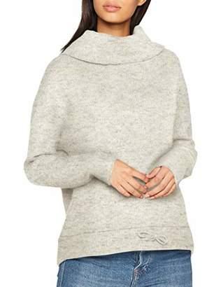 Vero Moda Women's Vmhelen Ls String Blouse Rep Jumper, (Light Grey Melange), 12 (Size: Medium)
