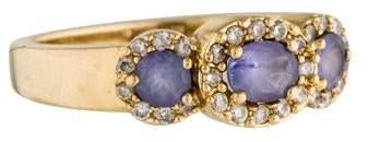 Effy Jewelry 14K Tanzanite & Diamond Ring