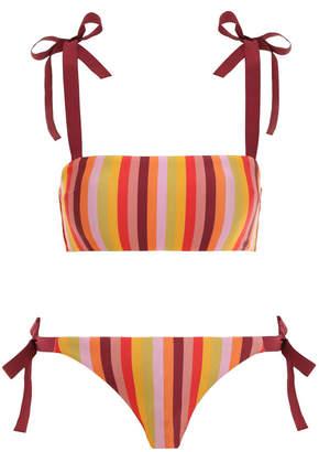 Zimmermann Goldie Rainbow Bandeau Bikini