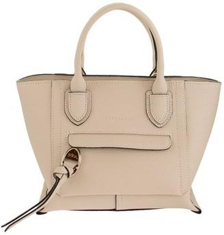 Longchamp Top Handle Bag S Mailbox Chalk
