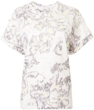 3.1 Phillip Lim abstract print T-shirt