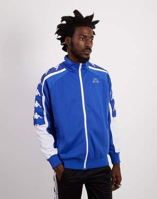 Kappa Banda 10 Ahran Zip Up Jacket Blue & White