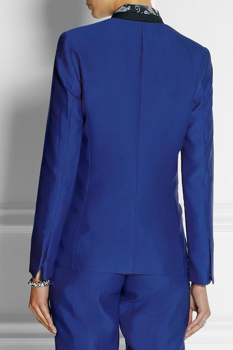 By Malene Birger Taylan silk and cotton-blend blazer