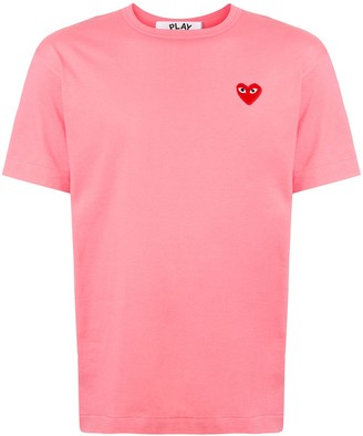 Comme des Garcons embroidered heart regular fit T-shirt