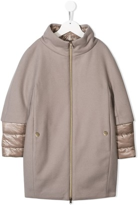 Herno padded cocoon coat