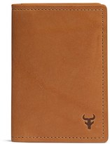 Trask Men's 'Billings' Folding Card Case - Brown