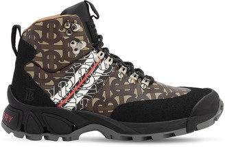 Burberry 40mm Logo Nylon Hiking Boots