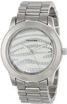 Vernier Women's VNR11143Z Analog Display Japanese Quartz Silver Watch