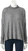 Juicy Couture Women's Ribbed Mockneck Sweater