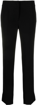 Emporio Armani Cropped Slim-Fit Trousers