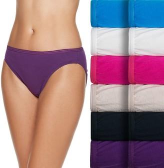 Fruit of the Loom Women's 12-pack Cotton Bikini Panties