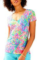 Lilly Pulitzer Michele V-Neck Top