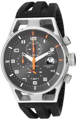 Locman Analog Quartz Watch with Stainless Steel Strap Clear 19.6 (Model: 4580579742953)