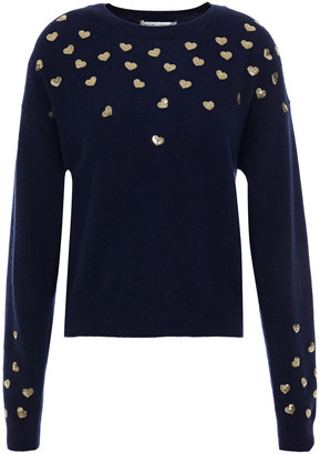 Autumn Cashmere Sequin-embellished Cashmere Sweater
