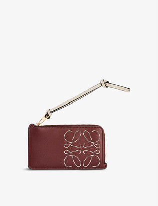 Loewe Brand leather coin purse