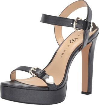 Katy Perry Women's The Noelle-Metallic Shine Heeled Sandal