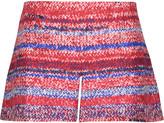Tory Burch Printed silk-satin shorts