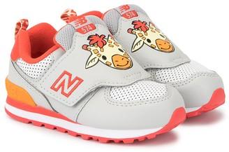 New Balance Animal head print sneakers
