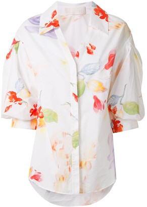 Peter Pilotto Floral Print Shirt