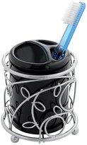 InterDesign Twigz Toothbrush Holder Stand for Bathroom Vanity Countertops - /Black