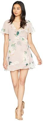 Show Me Your Mumu Winnie Wrap Dress (Southern Magnolia) Women's Dress