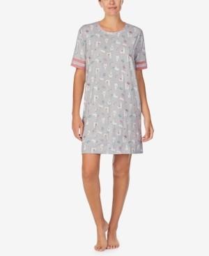Cuddl Duds Printed Sleepshirt Nightgown