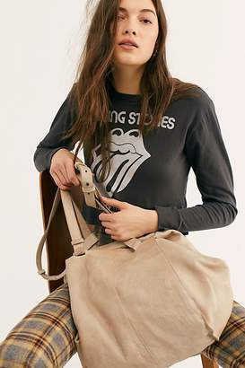 Free People Fp Collection Sid Distressed Tote by FP Collection at