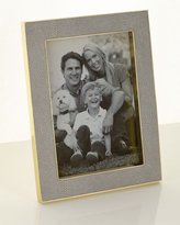 "AERIN Classic Dove Faux-Shagreen 5"" x 7"" Frame"