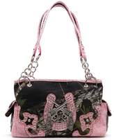 Mossy Oak Camouflage Western Pistol Shoulder Bag Satchel Purse